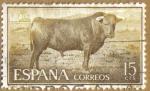 Sellos del Mundo : Europa : España : TAUROMAQUIA - Toro de Lidia