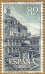 Sellos del Mundo : Europa : España : Monasterio del Escorial - Patio de los Evangelistas