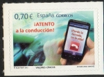 Sellos del Mundo : Europa : España : 4698 -Valoreas Cívicos.Atento a la conducción.