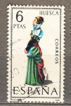 Sellos de Europa - España -  Traje Huesca (933)
