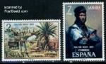 Sellos del Mundo : Europa : España : Sahara Edifil 312-313