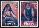 Sellos del Mundo : Europa : España : Sahara Edifil 306 y 307