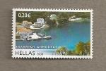 Sellos de Europa - Grecia -  Paisaje de Grecia