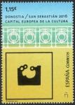 Sellos del Mundo : Europa : España : 5048- Donostia/ San Sebastián.Capital Europea de la Cultura.