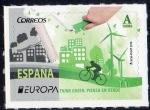 Sellos del Mundo : Europa : España : 5055 - Europa.Piensa en verde.