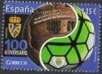 Sellos del Mundo : Europa : España : 5057 - Efemérides. Centenario de la Real Federación de Fúbol del Principado de Asturias.