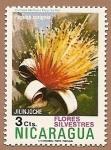 Sellos del Mundo : America : Nicaragua : Flora - flores silvestres - Jilinjoche
