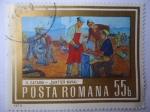 Sellos de Europa - Rumania -  H.Catargi - Santier Naval.