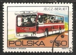Sellos de Europa - Polonia -  Jelcz-Berliet Bus