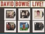 Sellos del Mundo : Europa : Reino_Unido : David Bowie Live