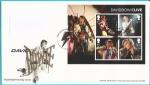 Sellos del Mundo : Europa : Reino_Unido : David Bowie - HB  SPD