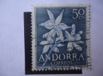 Sellos del Mundo : Europa : Andorra :  Narcissus Pseudonarcissus
