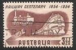 Sellos de Oceania - Australia -  Transporte ferroviario australiano