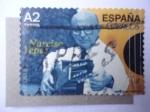 Sellos de Europa - España -  Guitarrista Clásico:Narciso Garcia Yepes  1927/97.