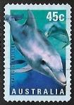 Sellos de Oceania - Australia -  Delfin