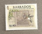 Sellos del Mundo : America : Barbados : 50 Aniversario Universidad Indias Occidentales