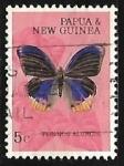 Sellos del Mundo : Oceania : Papúa_Nueva_Guinea : Mariposa