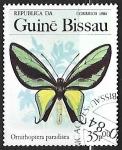 Sellos del Mundo : Africa : Guinea_Bissau : Mariposa