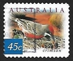 Sellos de Oceania - Australia -  Crimson Chat