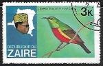 Sellos del Mundo : Africa : República_Democrática_del_Congo : Aves y jefes de estado