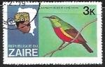 Sellos de Africa - República Democrática del Congo -  Aves y jefes de estado