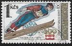 Sellos de Europa - Checoslovaquia -   Saltos de Esquí