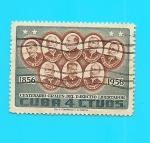 Sellos de America - Cuba -  Centenario Generales del Ejército Libertador