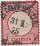 Sellos de Europa - Alemania -  Y & T Nº 4 [1]