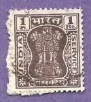 Sellos de Asia - India -  INTERCAMBIO