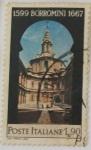 Sellos de Europa - Italia -  1599 BORROMINI 1667