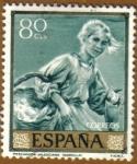 Sellos de Europa - España -  JOAQUIN SOROLLA - Pescadora Valenciana