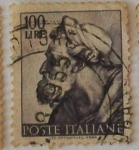 Sellos del Mundo : Europa : Italia : POSTE ITALIANE, Michelangelo Buonarroti