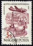 Sellos del Mundo : Europa : Hungría : COL-BUDAPEST-40 ANIVERSARIO CONSTITUCIÓN DE HUNGRIA (1918-1958)
