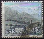 Sellos de Europa - España -  ESPAÑA 1965 1650 Sello II Serie Turistica Paisaje Mogroviejo Santander Usado