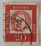 Sellos de Europa - Alemania -  Bach
