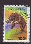 Sellos de Africa - Tanzania -  Dinosaurios