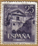 Sellos del Mundo : Europa : España : Monasterio de San Jose - AVILA