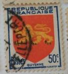 Sellos de Europa - Francia -  Guyenne