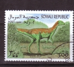 Sellos del Mundo : Africa : Somalia : Dinosaurios