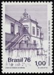 Sellos del Mundo : America : Brasil : BRASIL: Ciudad histórica de Ouro Preto