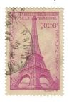 Sellos del Mundo : Europa : Francia : Cincuentenario de la Torre Eiffel