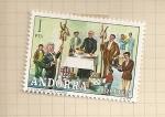 Sellos del Mundo : Europa : Andorra : Costumbres populares