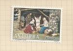 Sellos del Mundo : Europa : Andorra : Navidad 1972