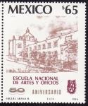 Sellos del Mundo : America : México : ESCUELA NACIONAL DE ARTES Y OFICIOS