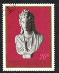 Sellos del Mundo : Europa : Rumania : Busto de la diosa Isis, siglo I, Constanza