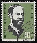 Sellos de Europa - Alemania -  Heinrich Hertz (1857-1894)