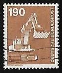 Sellos de Europa - Alemania -  Industria y tecnologia
