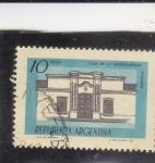 Sellos de America - Argentina -  casa de la independencia-Tucuman