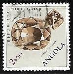 Sellos de Africa - Angola -  Diamante