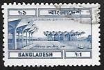 Sellos del Mundo : Asia : Bangladesh : Kalamapur railway station, Dhaka